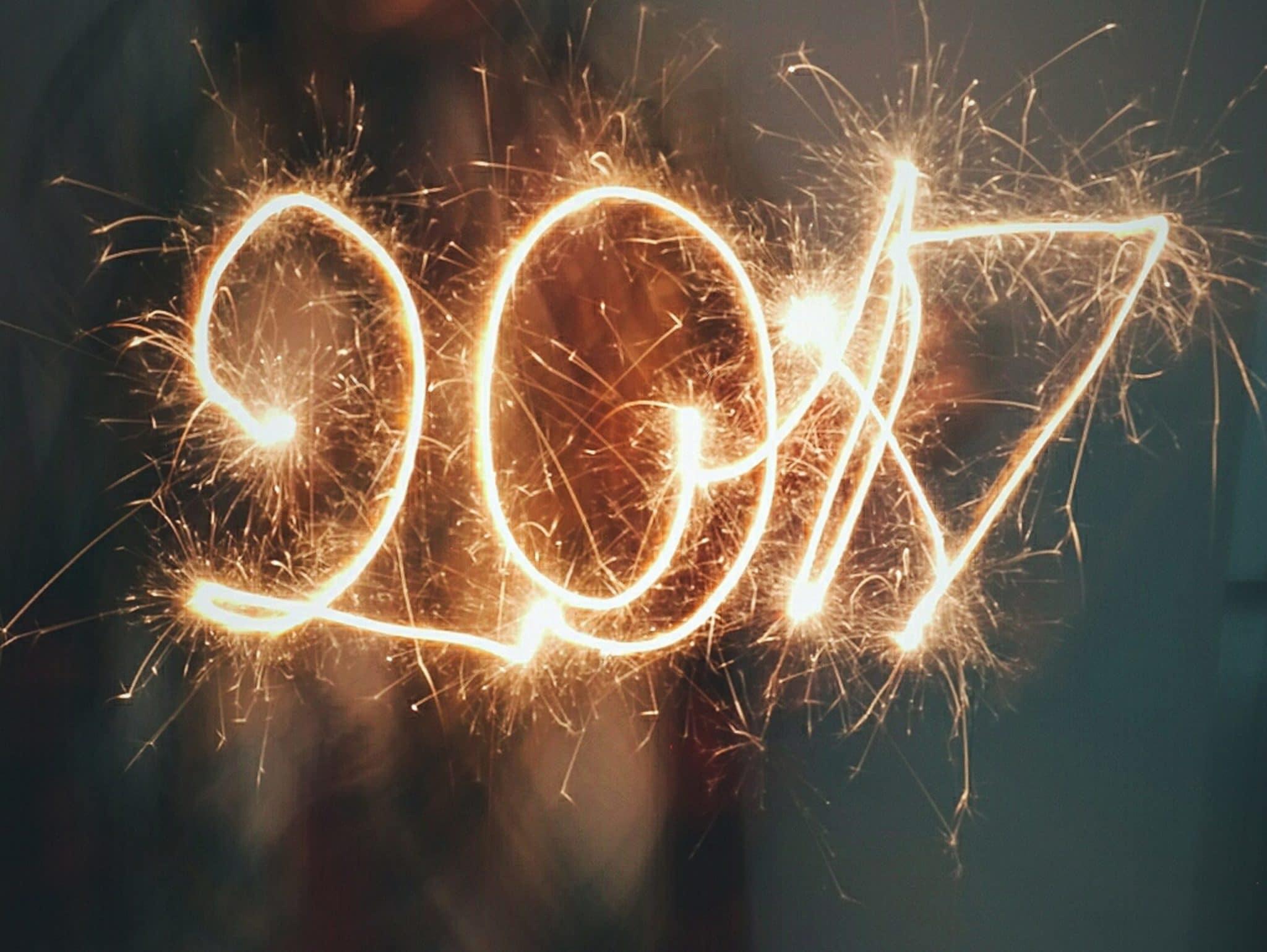 Wie begrüßen das neue Jahr