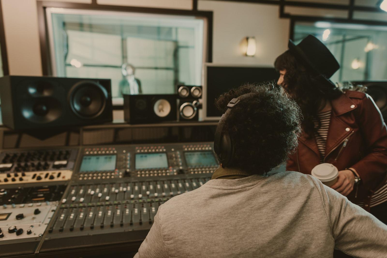 Die Produktion des neuen Lovesongs